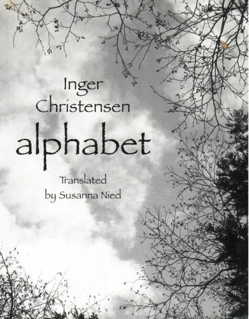What We're Reading: Inger Christensen's Alphabet